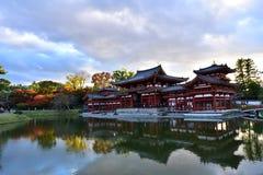 佛教寺庙,平等院在京都,日本 免版税库存照片