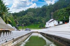 佛教寺庙,康提斯里兰卡 库存图片