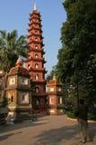 佛教寺庙-河内-越南 免版税库存照片