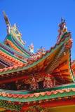 佛教寺庙建筑学 图库摄影