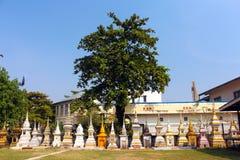 佛教寺庙 老挝万象 图库摄影