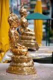 佛教小雕象 免版税图库摄影