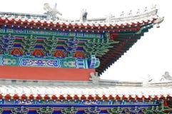 佛教屋顶寺庙 免版税库存图片