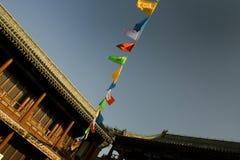 佛教庭院标记寺庙 图库摄影