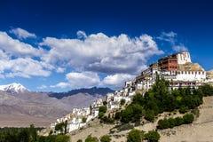 佛教徒修道院在印度 库存照片