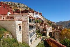 佛教徒修道院 免版税库存图片