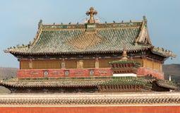 佛教徒修道院Erdene祖 免版税图库摄影
