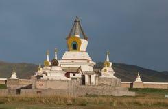 佛教徒修道院Erdene祖 免版税库存图片