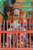 佛教徒四了不起的天堂般的国王Statue 免版税库存照片