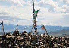 佛教徒标记山口祷告 免版税库存图片