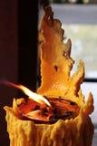 佛教徒的蜡烛 免版税库存照片