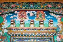 佛教徒里面寺庙 库存图片