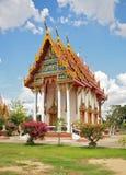 佛教教会现代sukhothai泰国 免版税库存照片