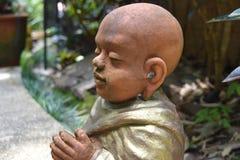 佛教新手 免版税库存照片