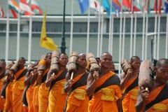 佛教朝圣 图库摄影