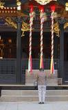 佛教的信徒 免版税库存照片