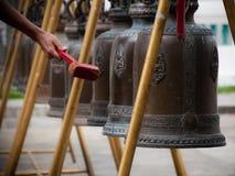 佛教的响铃 库存照片