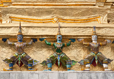 佛教的邪魔 免版税库存照片