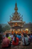 佛教社会在吉打,北马来西亚 库存照片