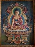 佛教绘画 免版税库存图片