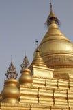 佛教缅甸塔 免版税库存照片