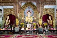 佛教缅甸的寺庙 免版税图库摄影