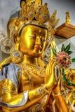 佛教雕象寺庙 库存图片