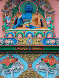 佛教雕象 图库摄影