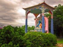 佛教雕象 免版税库存照片