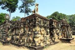 佛教雕刻 图库摄影