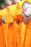 佛教食物产生修士课程 免版税库存照片