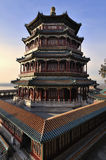 佛教香火(foxiangge颐和园塔  图库摄影