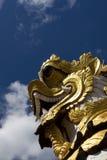 佛教龙 免版税库存图片