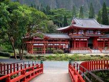佛教byodo寺庙 库存图片