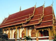 佛教Chiang Mai寺庙 库存照片