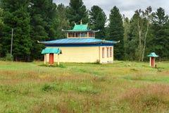 佛教datsan Bodhidharma在Arshan 俄国 免版税库存照片