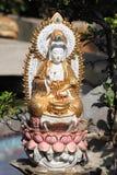 佛教goddes雕象 库存图片