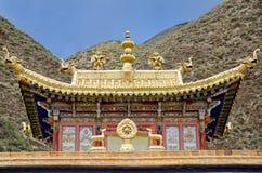 佛教labrang修道院 免版税库存图片