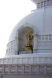 佛教Stupa王舍城 库存图片