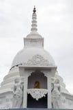 佛教stupa 免版税库存照片