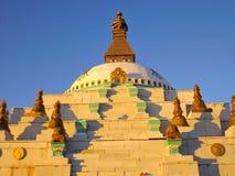佛教stupa 库存照片