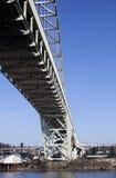 佛瑞蒙桥梁在波特兰,俄勒冈 图库摄影