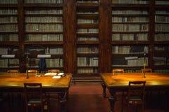 佛罗伦丁的图书馆(2),意大利 免版税库存图片