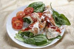 佛罗伦丁的烤碎肉卷子 免版税图库摄影