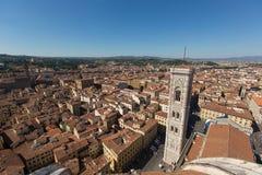 佛罗伦萨中央寺院在意大利,夏天 免版税库存图片