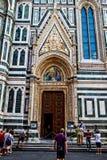 佛罗伦萨中央寺院大教堂 图库摄影