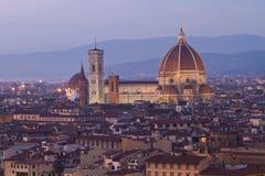 佛罗伦萨中央寺院 免版税库存照片
