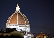 佛罗伦萨中央寺院 库存照片