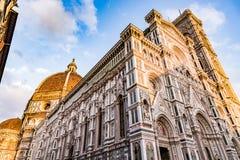 佛罗伦萨中央寺院 库存图片