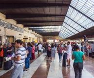 佛罗伦萨中央火车站SMN -佛罗伦萨意大利- 2017年9月13日 库存照片